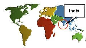 Location-of-india